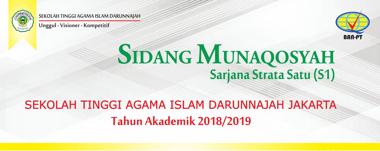 Sidang Munaqosyah 2018/2019